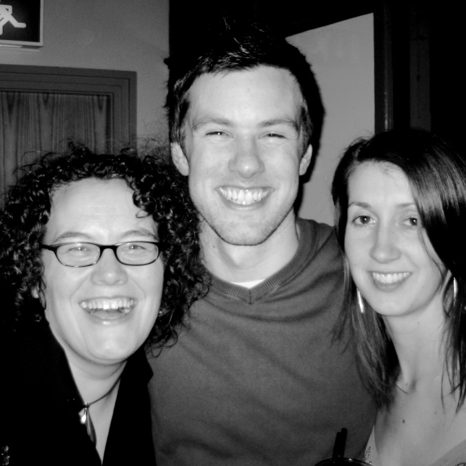 Janette, Me and Kath back in 2006